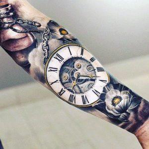 tatuaje-reloj-en-brazo
