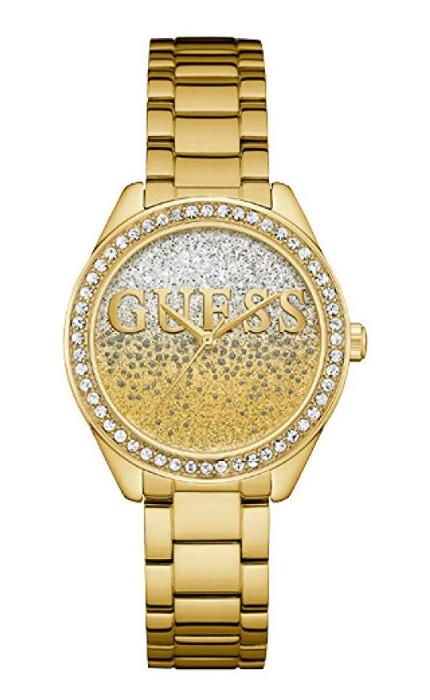 Guess Reloj Analógico para Mujer Acero Inoxidable W0987L2